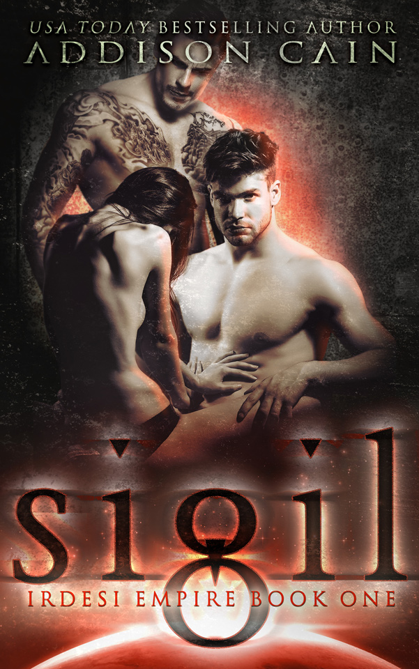 Irdesi Empire Book 1: Sigil by Addison Cain, second edition cover